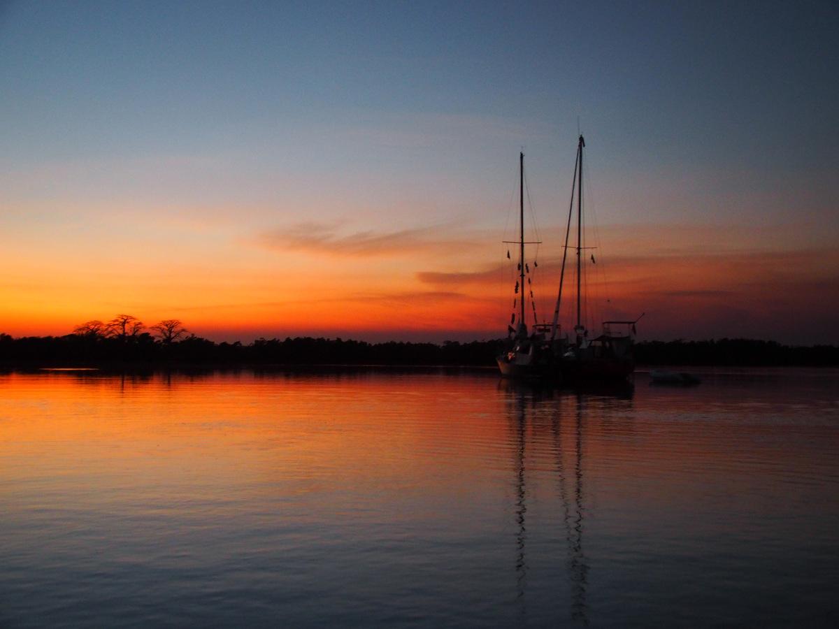 Sonnenuntergang bei Ehidj