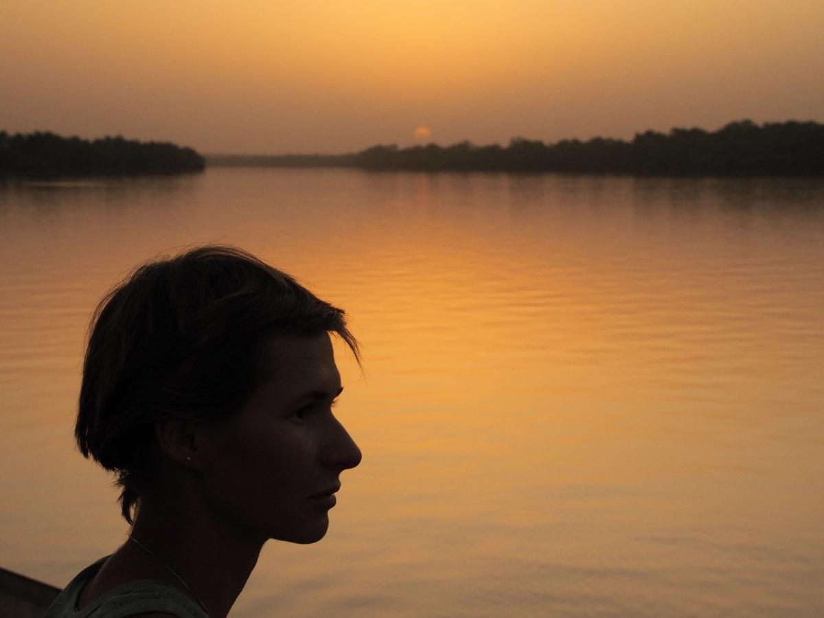 Sonnenuntergang bei Baboon Island