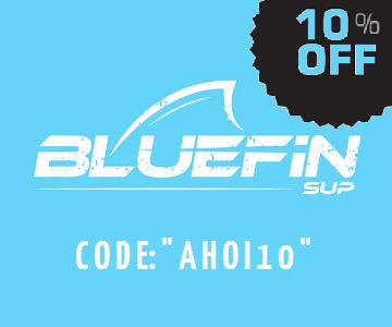 10% auf Dein BLUEFIN SUP!