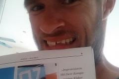 … aber dieses Mal darf es der Zahnarzt machen ;-)