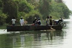 Fährverbindung über den Gambia River