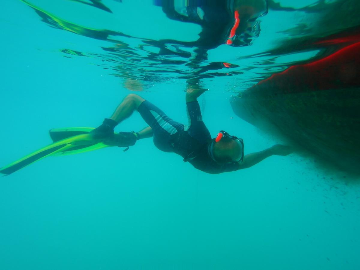Beautyeinheit für das Unterwasserschiff