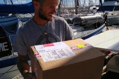 Unser lang ersehntes Paket ist da!