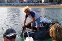 Großeinkauf für zwei Boote und mehrere Wochen und Monate