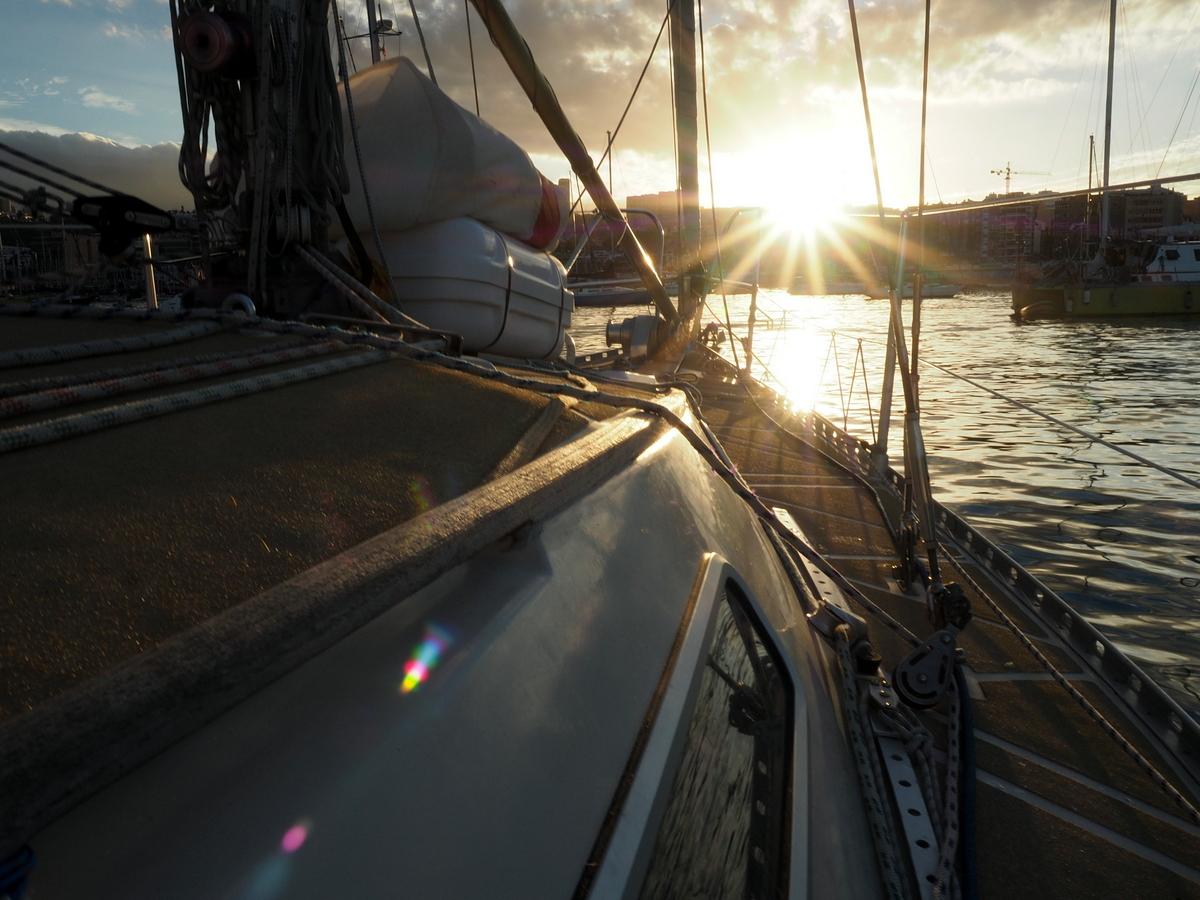 Sonnenuntergang vor Las Palmas