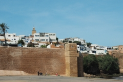 Blick auf die Altstadt von Rabat
