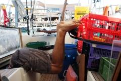 Große Backskisten schlucken viel Equipement - und gelegentlich die Crew...