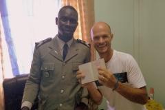 Wir sind offiziell im Senegal eingereist