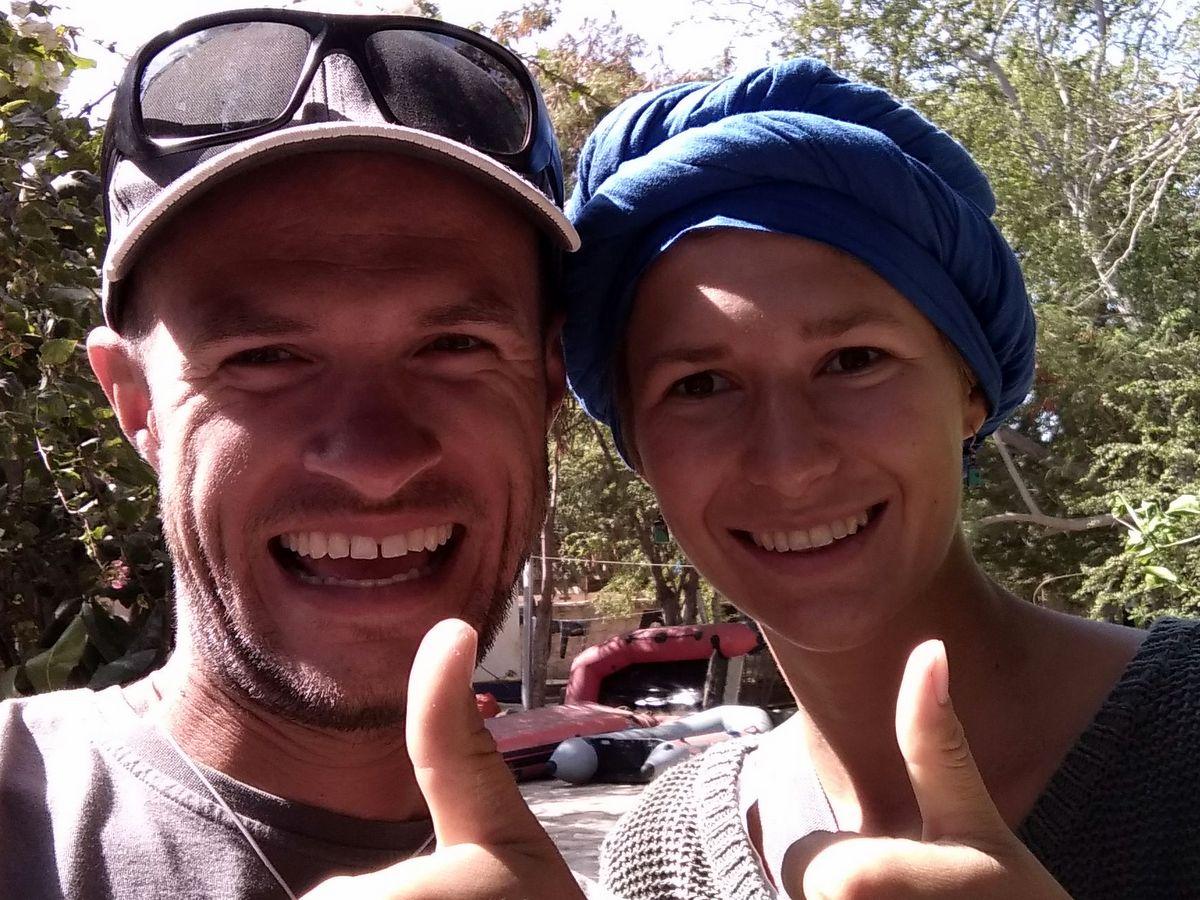 Riki und Martin in Dakar