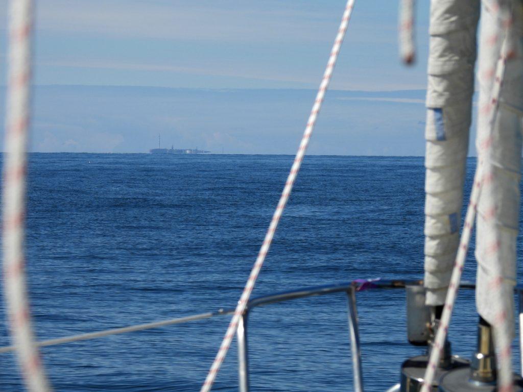 Helgoland am Horizont