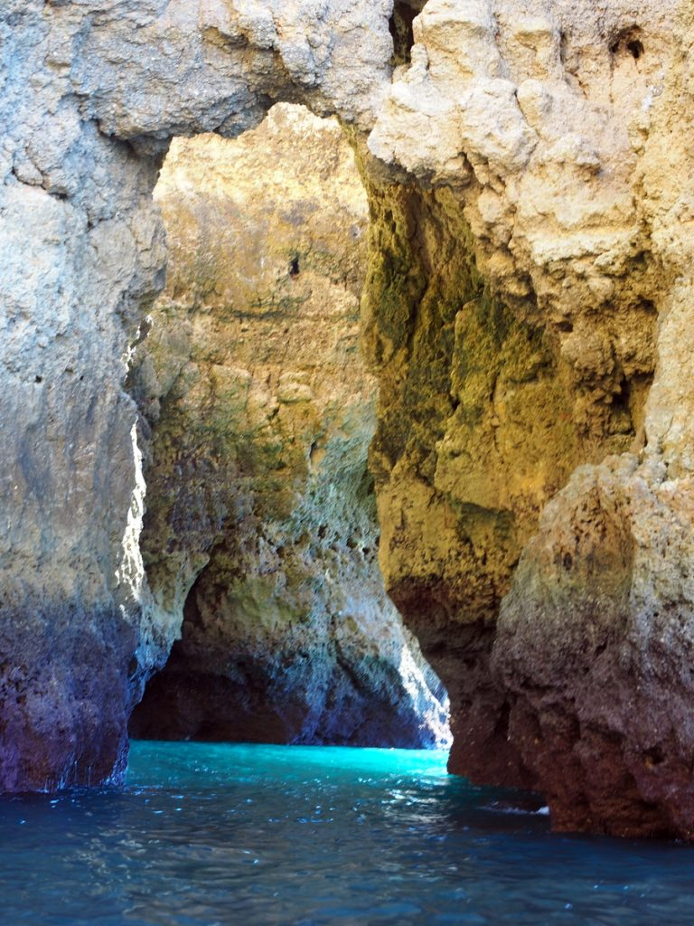 Grotten in der Algarve