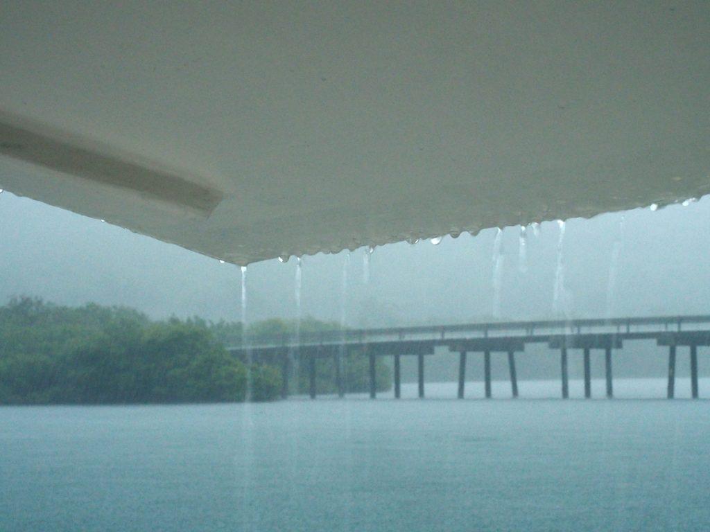 Hurrikane Elsa bringt Regen